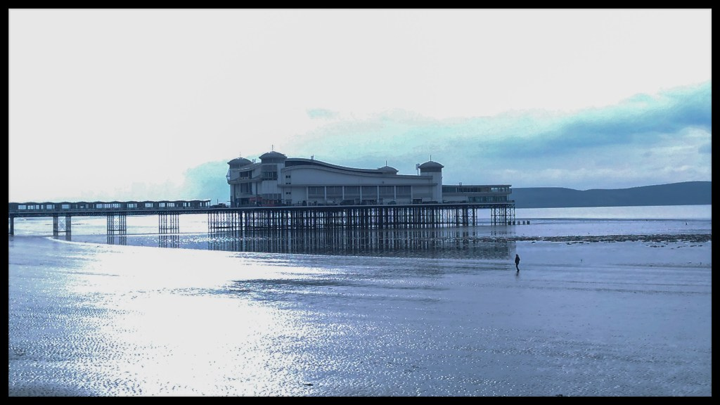 Weston Super Mare pier, England