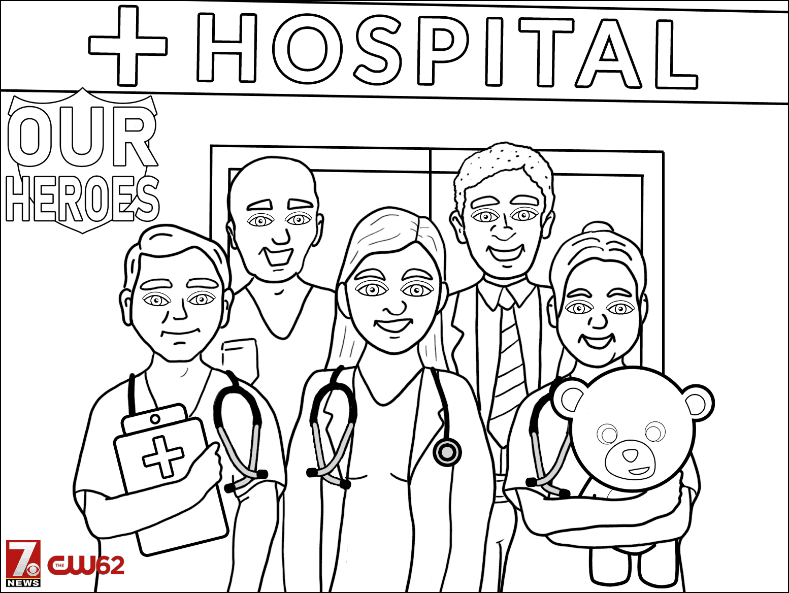 Color Our Medical Heroes