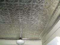 Before and After: Our Kitchen Tin Ceiling Project - Living ...