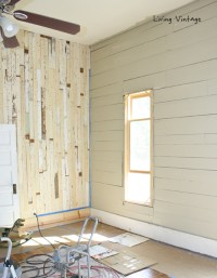 Painted Wood Walls - Home Design