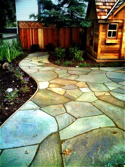 flagstone patios living waters