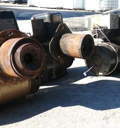 these gun style burners were pulled out of old furnaces instead of getting crushed at the the junkyard conventional oil burners can be modified to accept  [ 2560 x 1440 Pixel ]