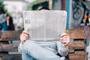 Reading newspapers online isn't nearly as satisfying