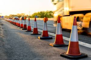 Watch out for road construction in early March.