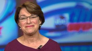 Amy Kloubucher seemed like the most sensible candidate at the DnC debate