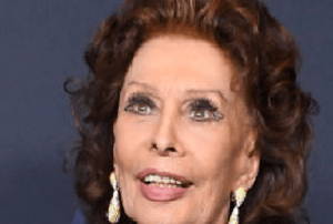 Too much dark eye makeup is aging on an octogenarian