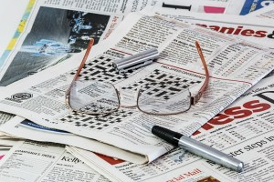 Reading a newspaper in print is more leisurely that online