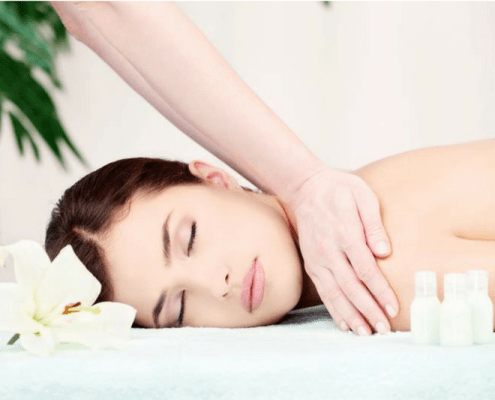 Find composure with aromatherapy massage