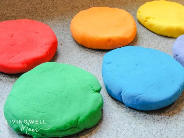 soft homemade playdough recipe