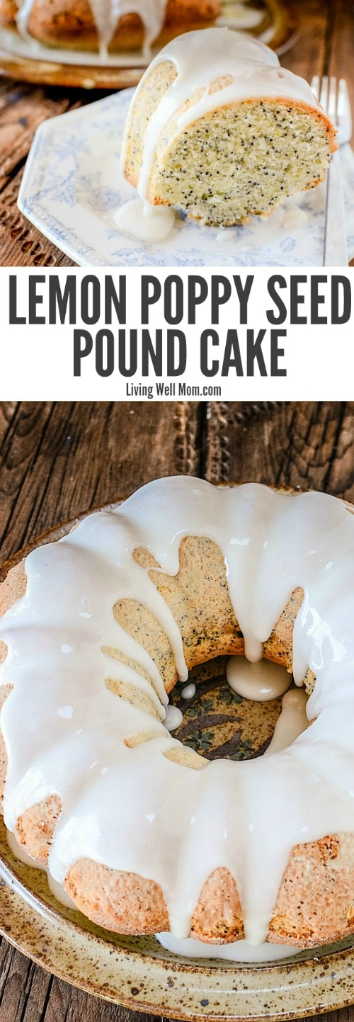 Need a simple dessert? This Easy Lemon Poppy Seed Cake recipe is moist, light, and with a perfect amount of lemon flavor, so delicious, it never lasts long!