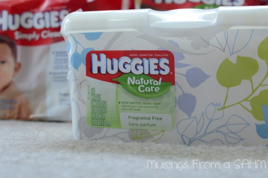 Huggies Natural Care wipes, Huggies Natural