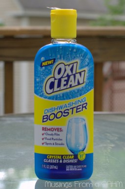 OxiClean Booster, OxiClean Dishwashing Booster