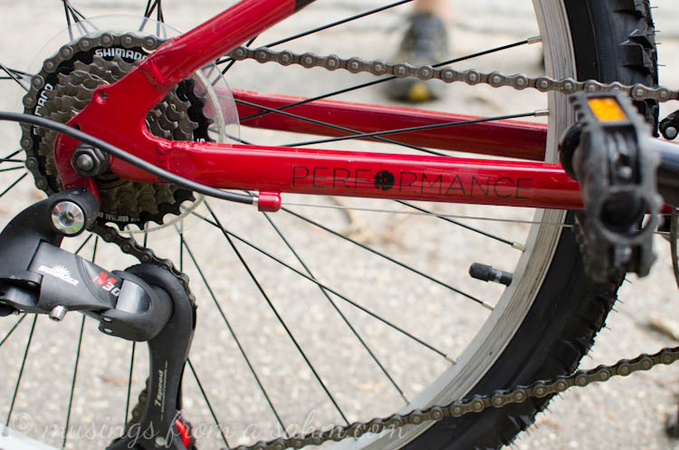 Performance Bicycle Review - Living Well Mom