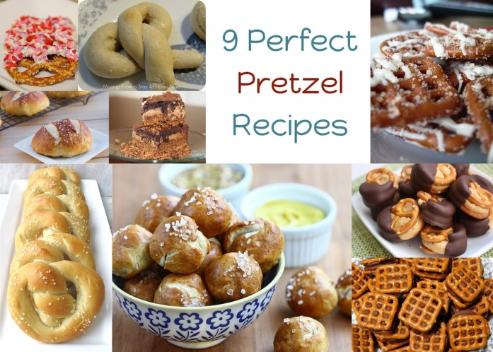 9 Perfect Pretzel recipes