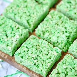 Lime Jello Rice Krispies Treats