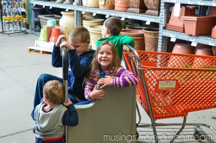 Home depot school projects