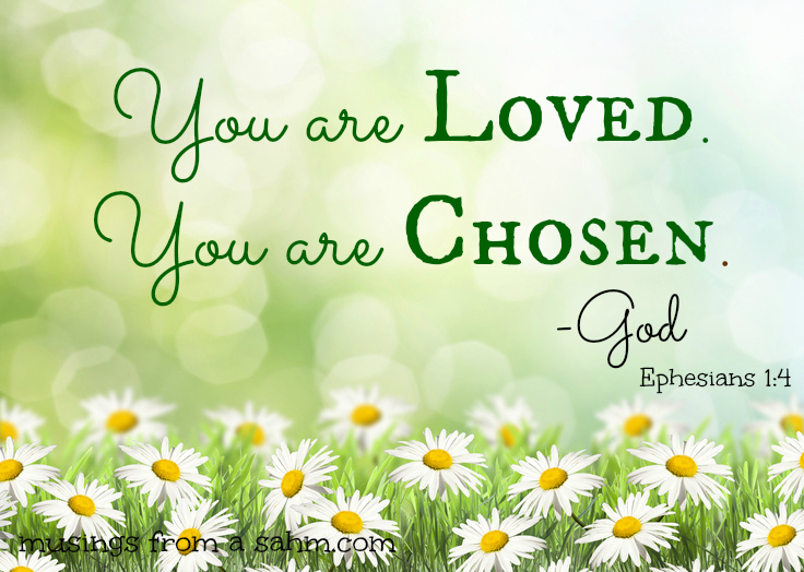 Loved.Chosen.God