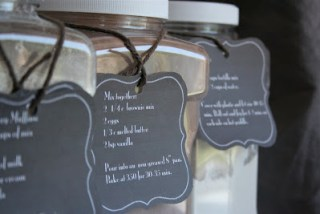 labels for pantry mixes