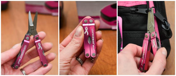 Pink Tools Leatherman Micra