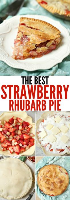 the best strawberry rhubarb pie recipe