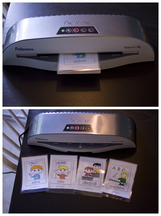 Laminating with the Saturn2 95