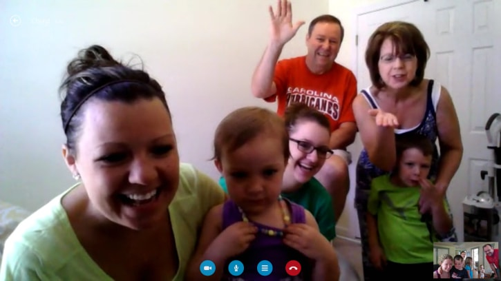 Skype with Family (3)