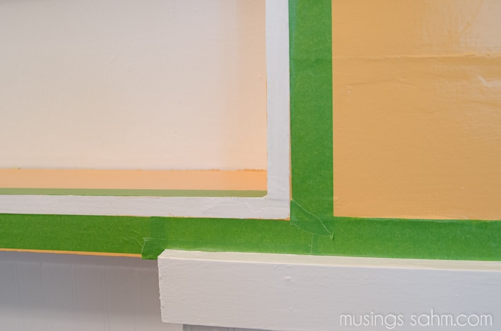 frog tape kitchen painting