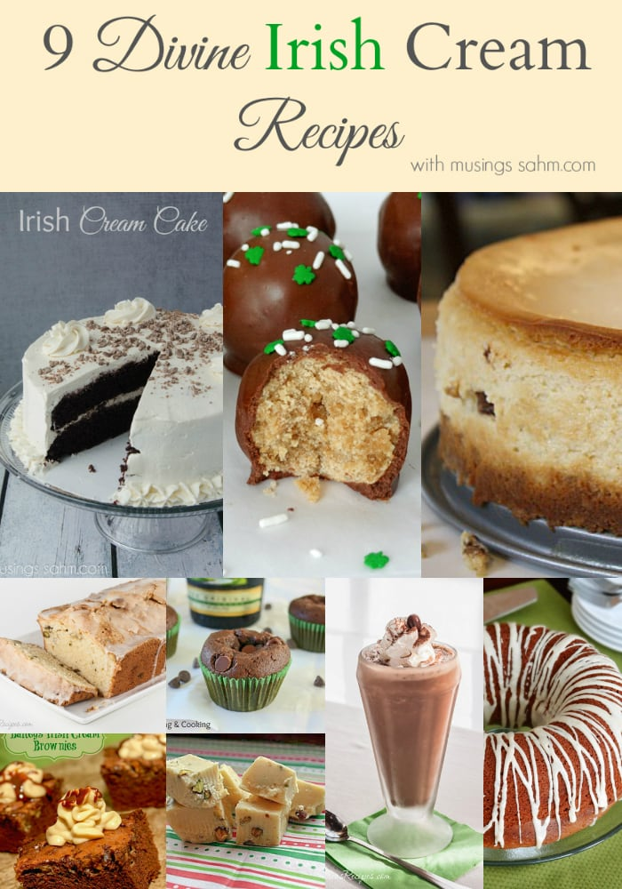 9 Divine Irish Cream recipes
