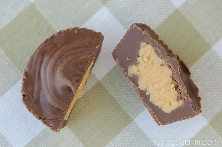Homemade Peanut Butter Cups - the easy no-bake recipe