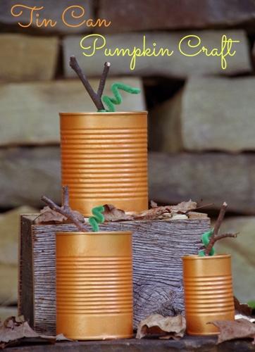 Easy-Fall-Craft-Tin-Can-Pumpkins-2-741x1024