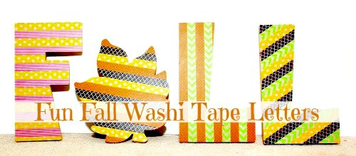 Fall-Washi-Tape-Letters