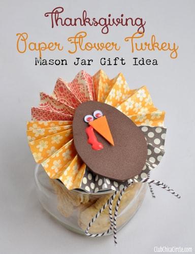 Thanksgiving-Paper-Flower-Turkey-Mason-Jar-Teacher-Gift-Idea