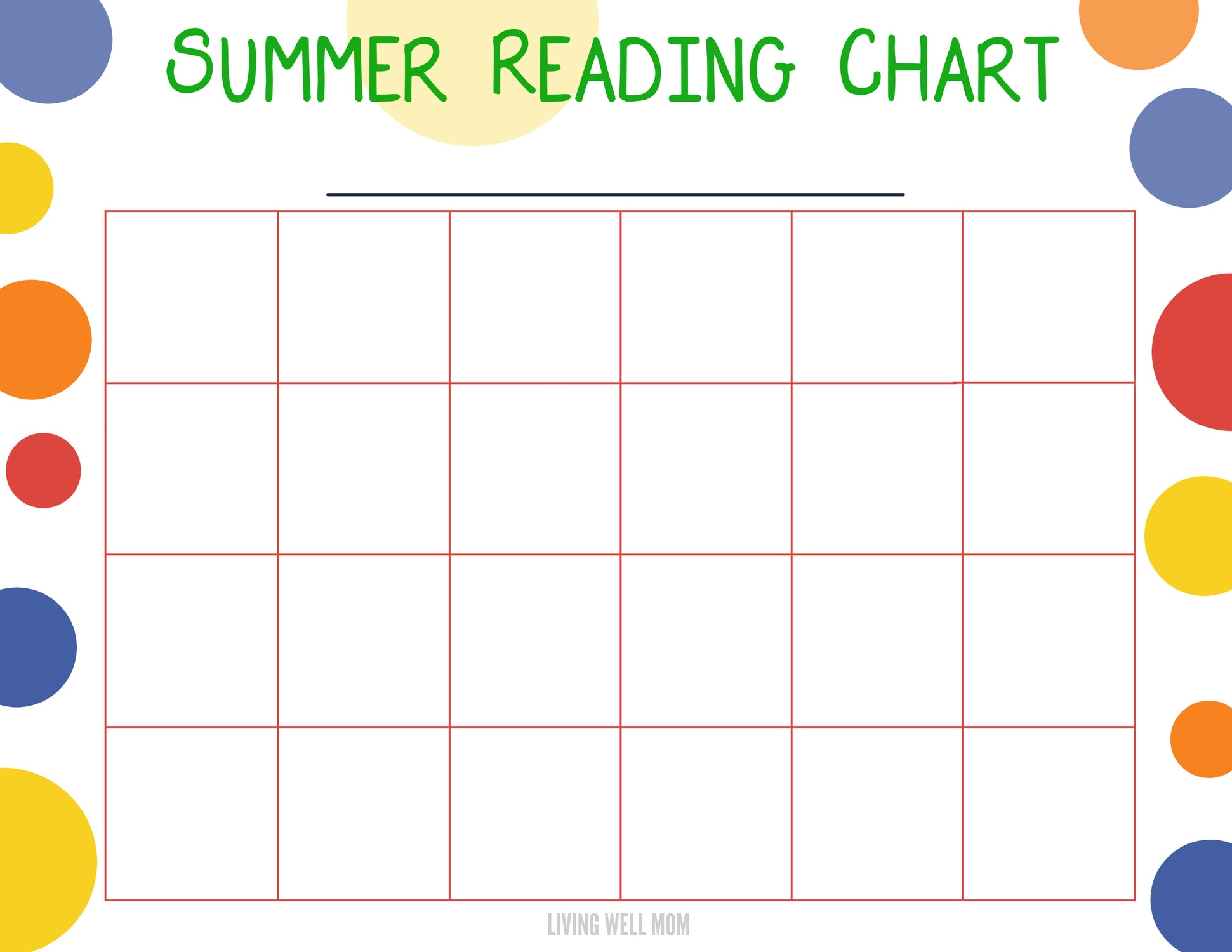 Want to get your kids reading this summer? Here's an easy DIY summer reading program for kids, plus a free printable chart! Find out how to customize it for your own children and they'll be begging you for books to read!