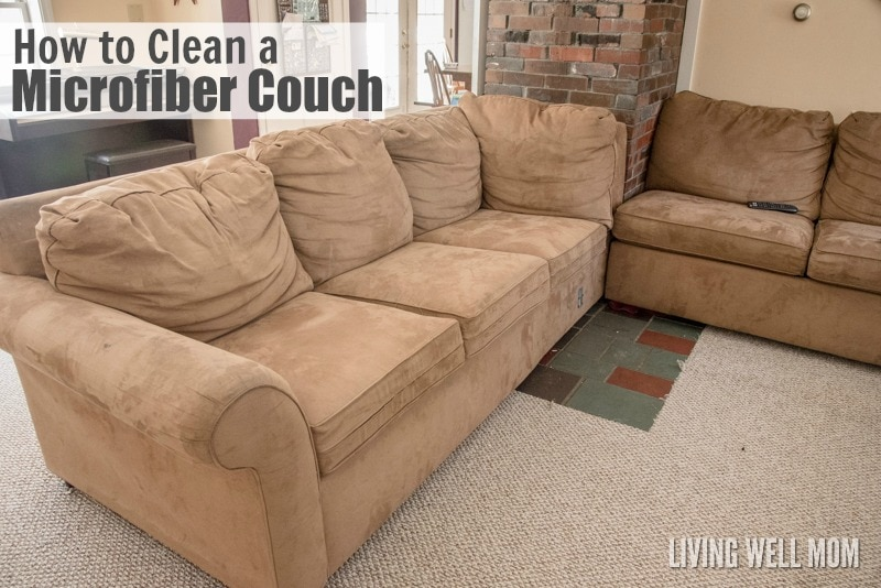 microfiber sofas patio sofa set cover how to clean a couch and remove pen marker stains got here s without fancy cleaning supplies plus