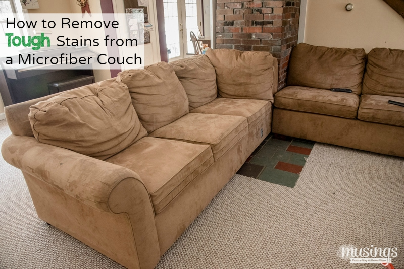 Groovy How To Remove Tough Stains From A Microfiber Couch Ibusinesslaw Wood Chair Design Ideas Ibusinesslaworg