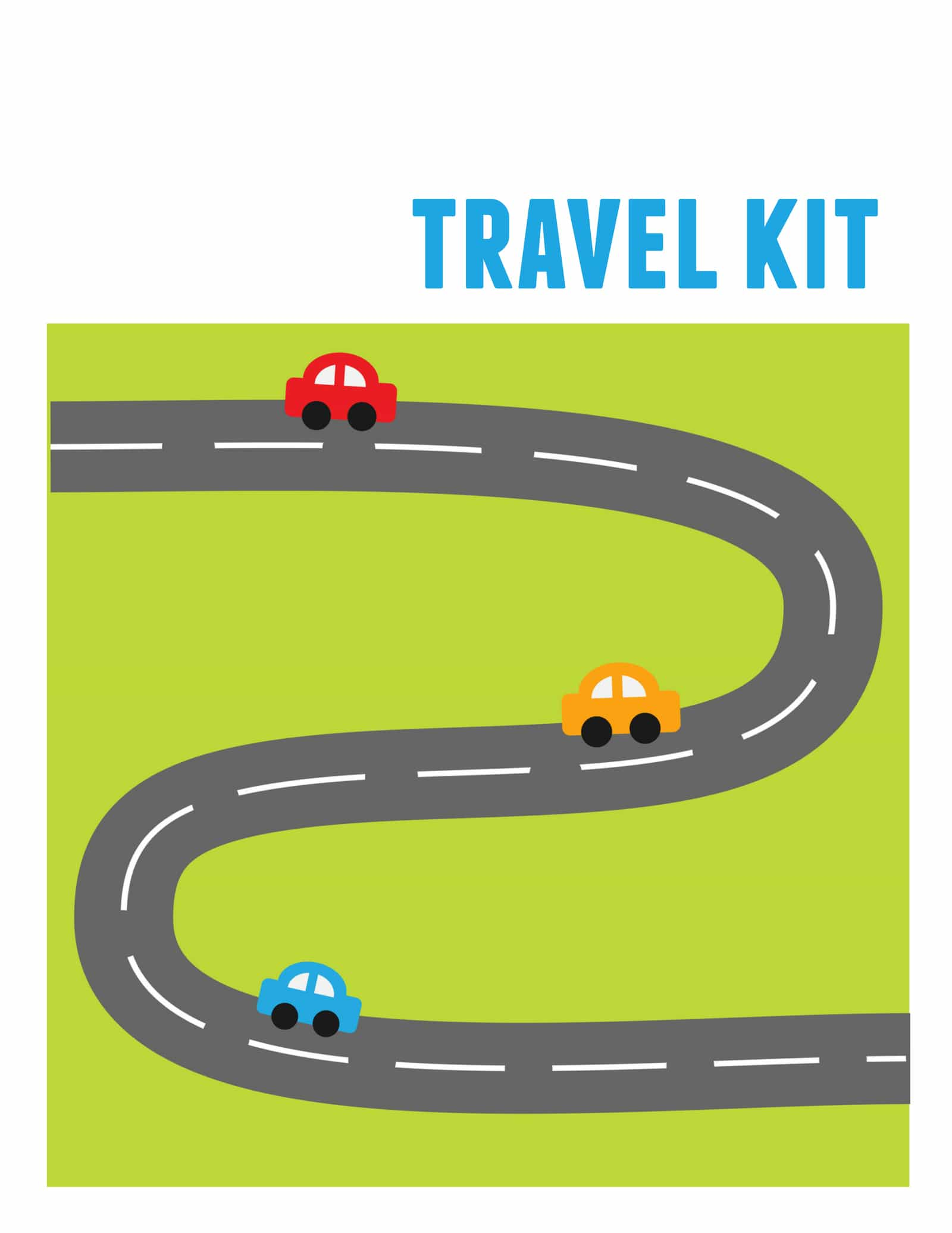 Kids Travel Kit Binder Over 150 Free Printable