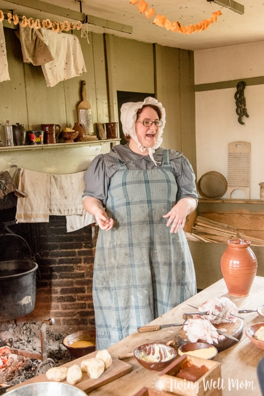 Old Sturbridge Village actor