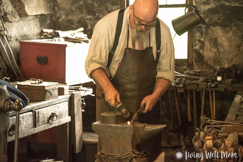Old Sturbridge Village blacksmith