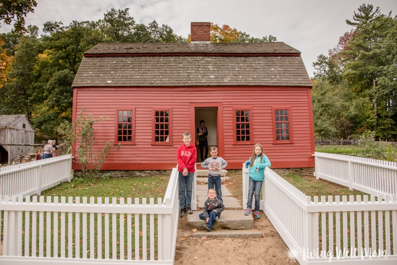 Old Sturbridge Village farmhouse