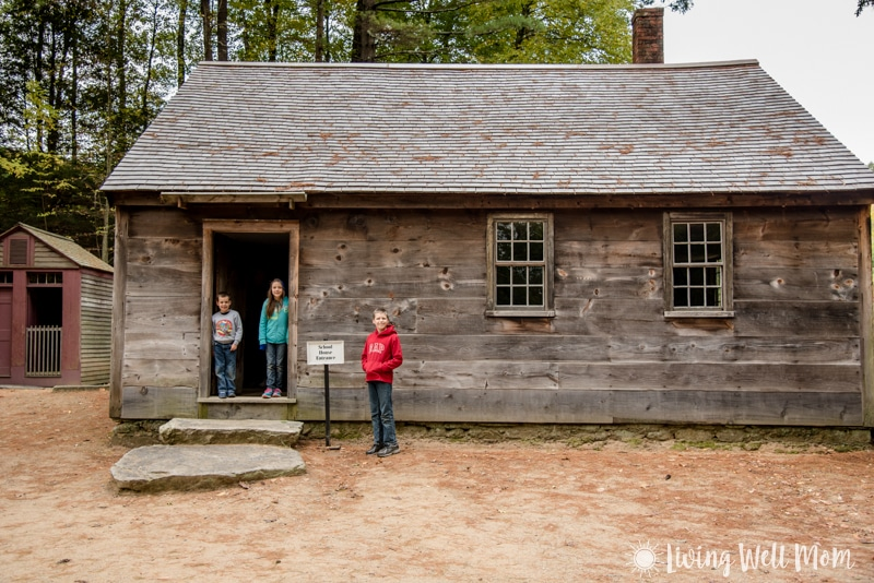 Old Sturbridge Village - schoolhouse