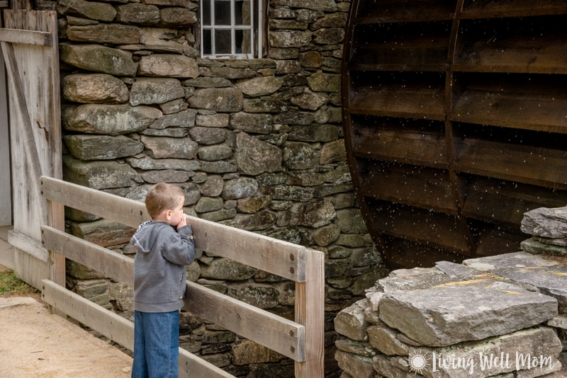 Old Sturbridge Village watermill