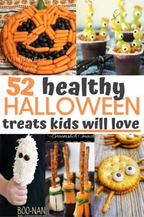 healthy halloween treats kids will love