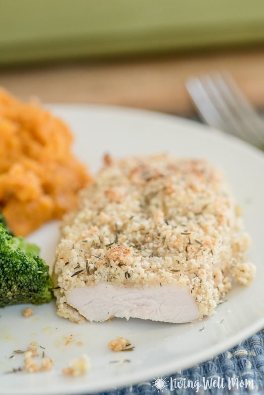 This tender Baked Turkey Breast is covered with a perfectly blended array of seasoning and, with a little coconut oil drizzled over the top, it's so juicy and savory, you'll never guess it's a Paleo friendly recipe!