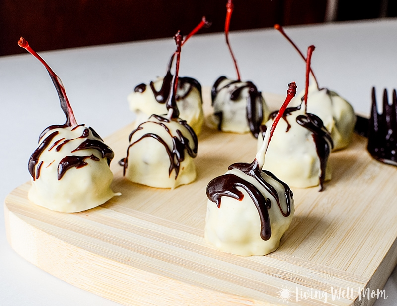 This Chocolate Buttercream Cherry Candies recipe is out-of-this world delicious! It will melt in your mouth and the burst of maraschino cherry in the middle makes it even better.