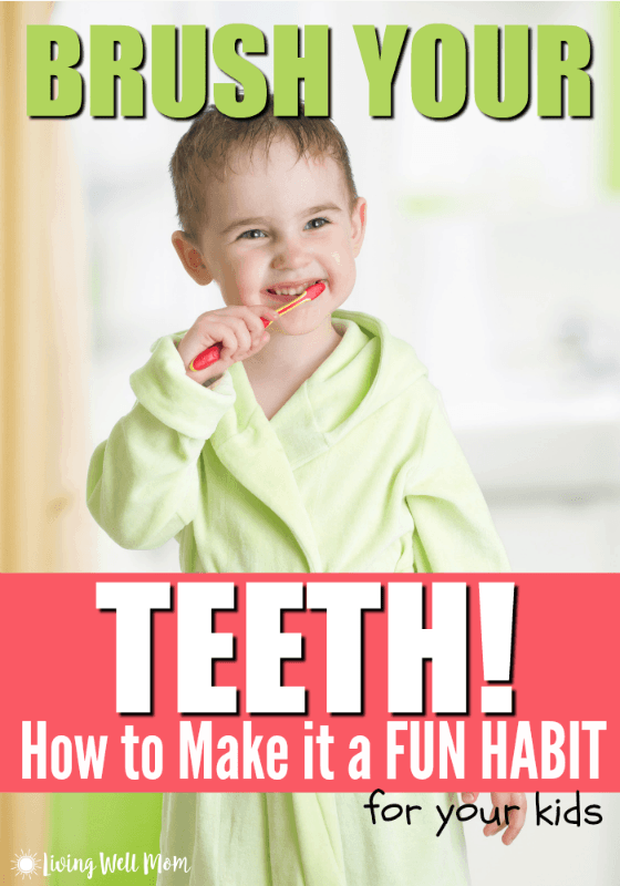 Need a way to motivate your kids to brush their teeth? Here's some simple tips from a mom of four that will help your whole family make brushing (and flossing!) a fun habit!