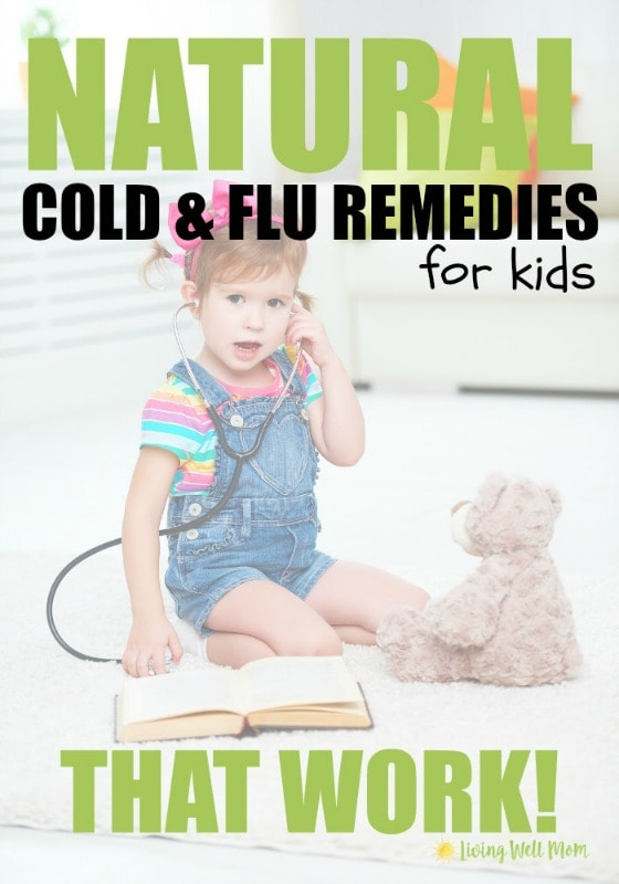 Tired of your kids getting sick? Here's some all natural cold and flu remedies for kids that really work! Not only do they help boost the immune system, but they're great for reducing the duration and severity of illness too. Plus find out how to make a simple Immune Boost Essential Oil Roller.