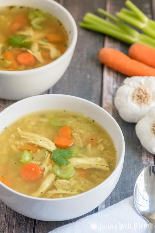 Nourishing Paleo Chicken Soup