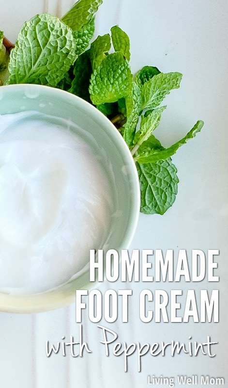 Looking for an easy way to relax? Try this homemade foot cream <a href=