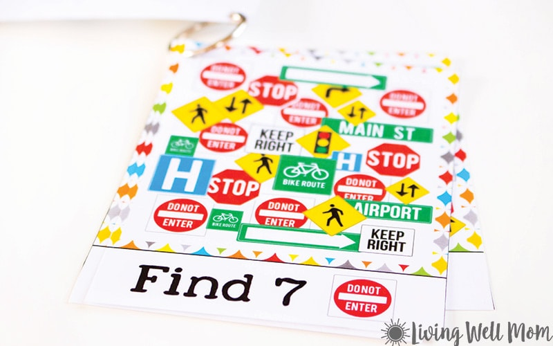 Road trip? This Travel I Spy for Kids is a perfect activity to keep kids occupied during long car rides. It's simple enough for preschoolers, yet with a little variation, will keep older kids busy too! Download your free printable I Spy sheets here.