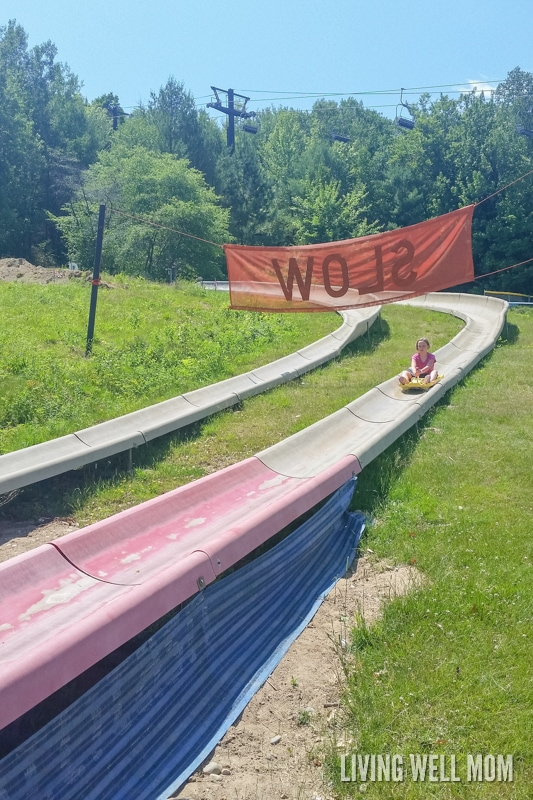 Looking for scenery and family adventure? Attitash Mountain in Bartlett, New Hampshire has both! With the longest alpine slide in North America, a mountain coaster, water slides and more, you'll have a full day of fun with your family! Plus a review of the Attitash Grand Summit Hotel...